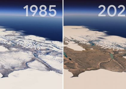 Google and Nasa release amazing timelapse of how Planet Earth has changed over 30 years