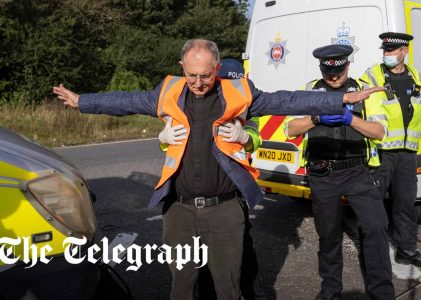 Church leaders' anger at priests who helped M25 climate change blockade